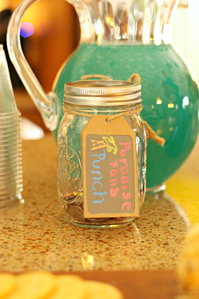Disney up party drink ideas Disney Up Party Ideas + FREE Printable | Join us for a #DisneyKids inspired Disney themed party - food, decor, drinks, crafts, activities & FREE printable #Disney #DisneyParty #PartyPlanning #KidsParty
