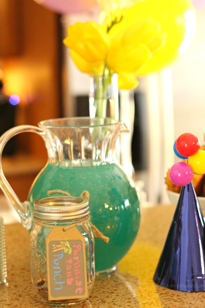 Disney up party drink