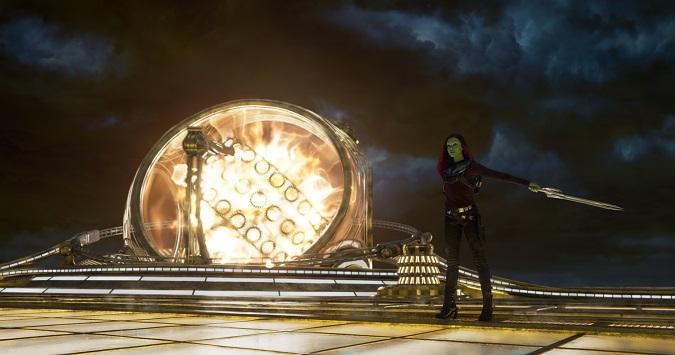 Gamora Zoe Saldana interview guardians of the galaxy 2