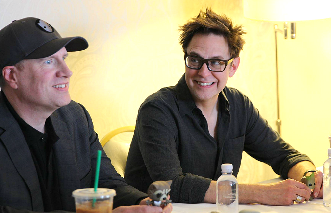 James Gunn Kevin Feige guardians of the galaxy vol. 2 interview