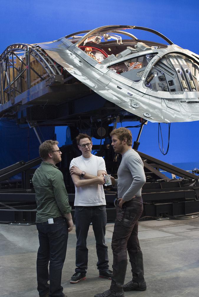 James Gunn guardians of the galaxy vol. 2 interview