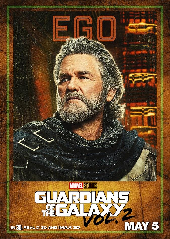 Kurt Russell ego interview guardians of the galaxy vol. 2