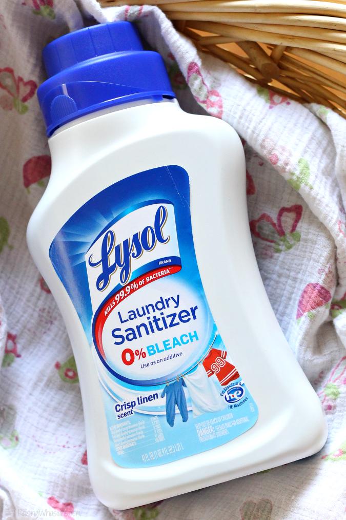 Lysol laundry sanitizer facts