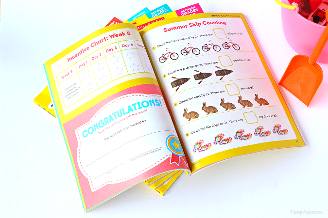 Scholastic summer workbooks