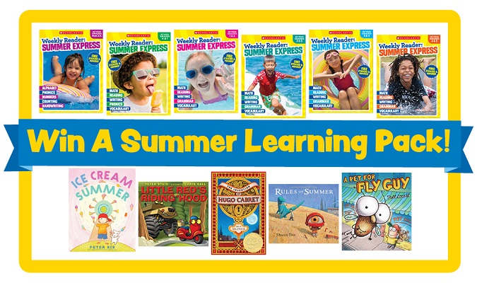 Scholastic weekly reader summer express giveaway
