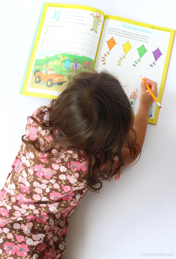 Summer workbooks for preschoolers