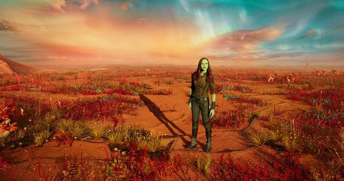Zoe Saldana talks Gamora guardians 2