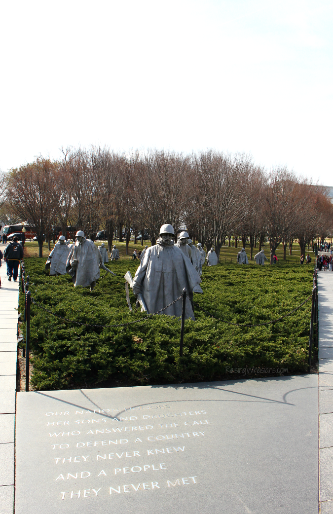 DC best memorials for kids