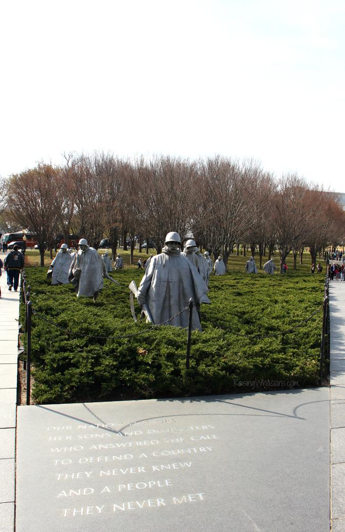 DC best memorials for kids