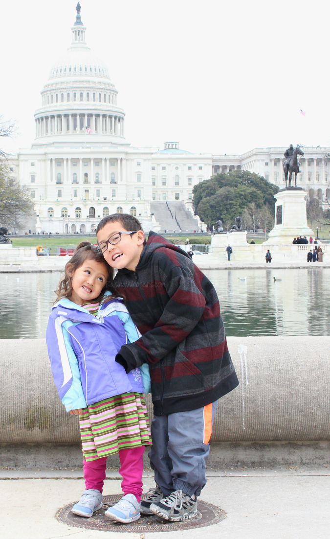 DC for kids best attractions