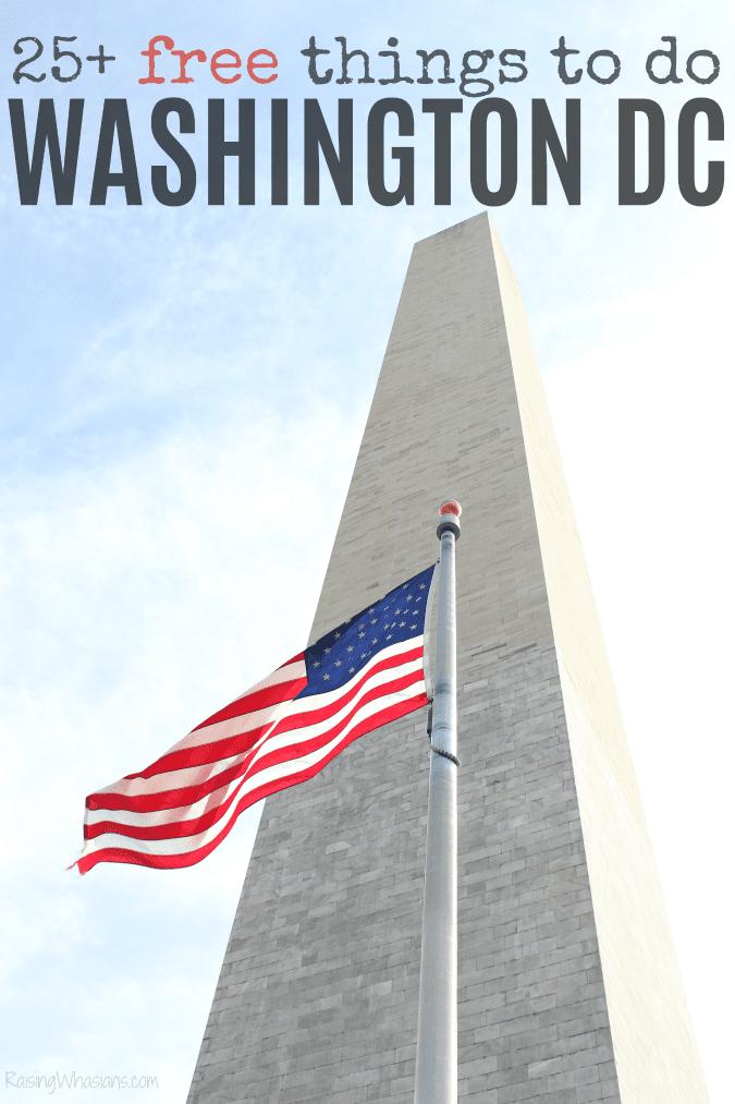 25 free things to do in washington dc