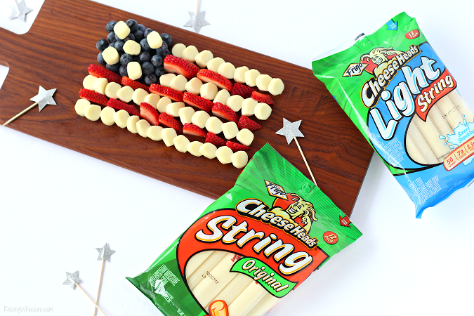 Frigo cheese heads snack idea summer