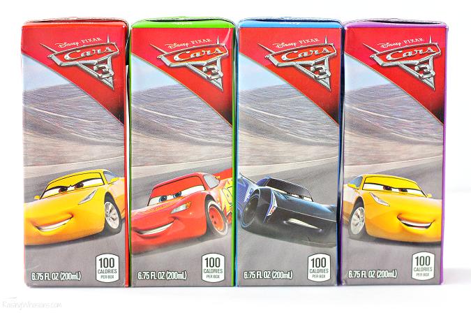 Juicy juice boxes cars 3