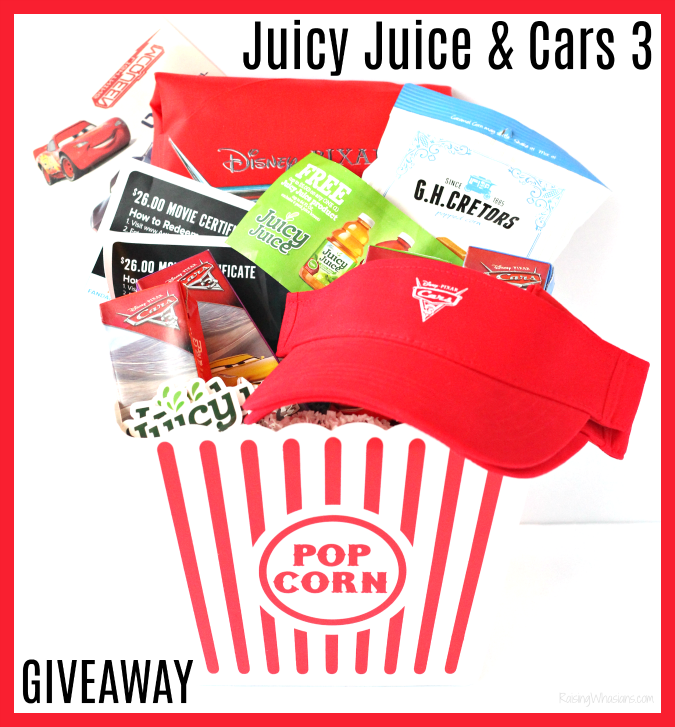 Juicy juice cars 3 giveaway