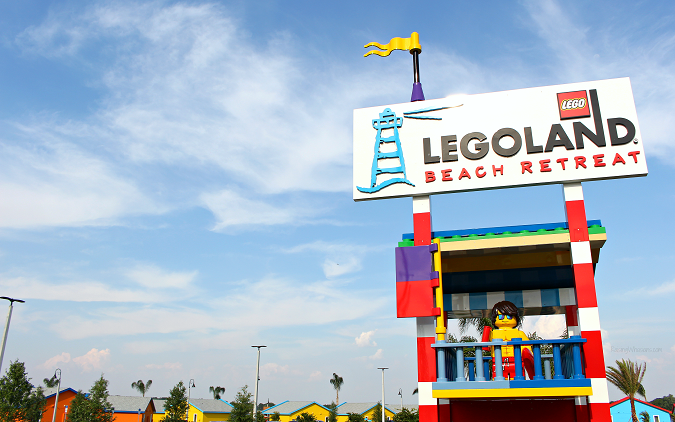 Legoland beach retreat check in
