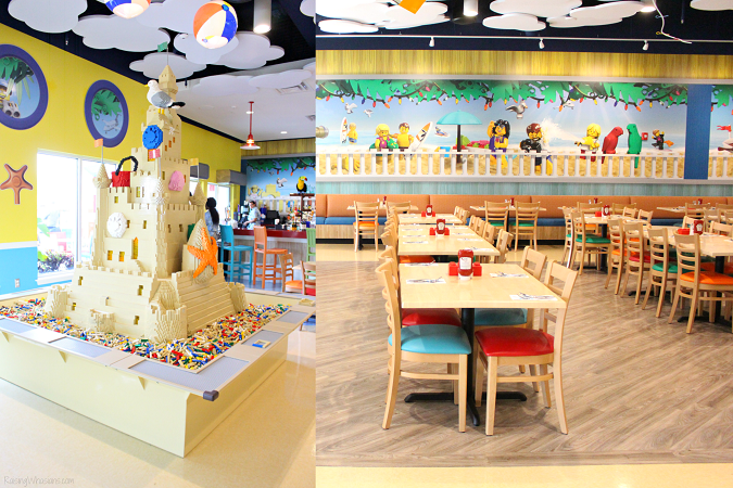 Legoland beach retreat food
