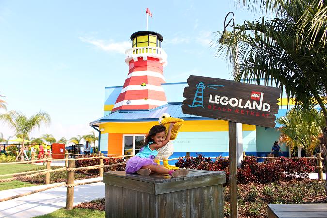 Legoland beach retreat lighthouse