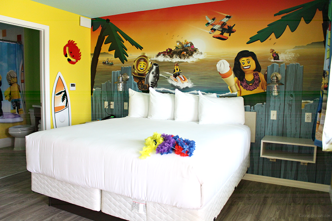Legoland beach retreat review for families