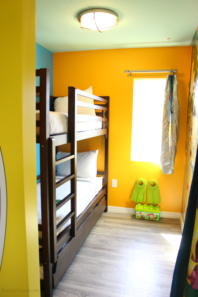 Legoland beach retreat room tour pictures