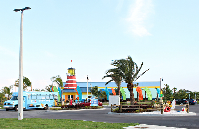 Legoland beach retreat shuttle
