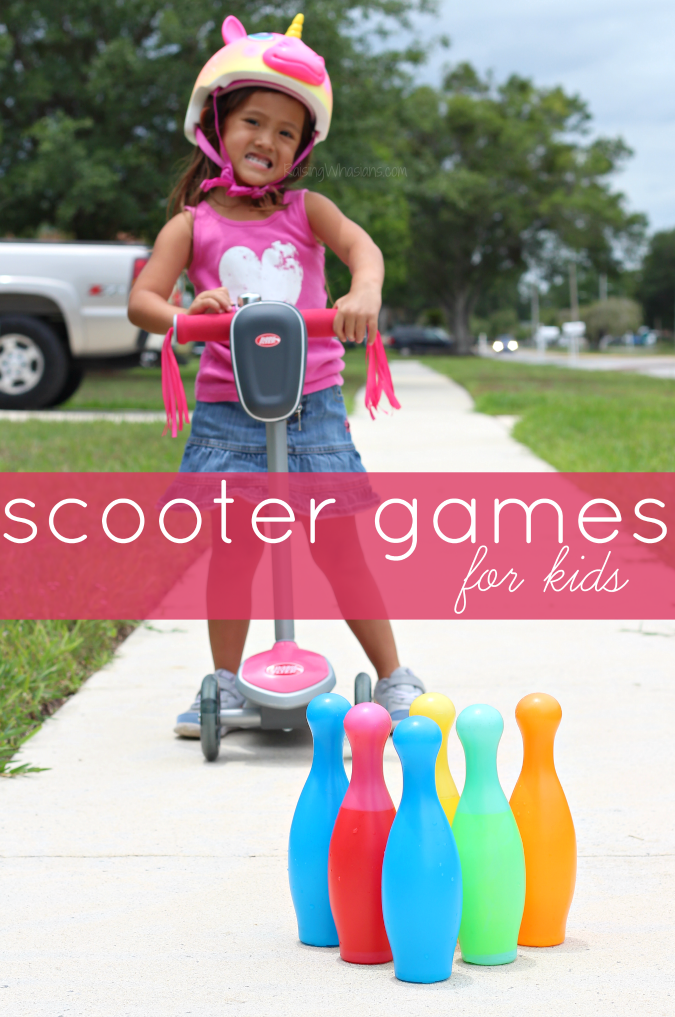 Scooter games for kids