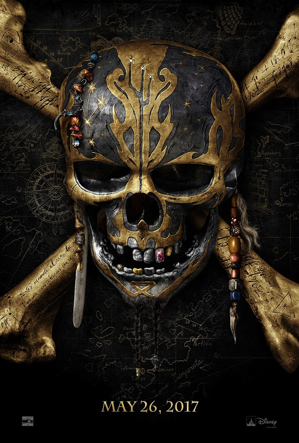 2017 pirates of the caribbean movie poster