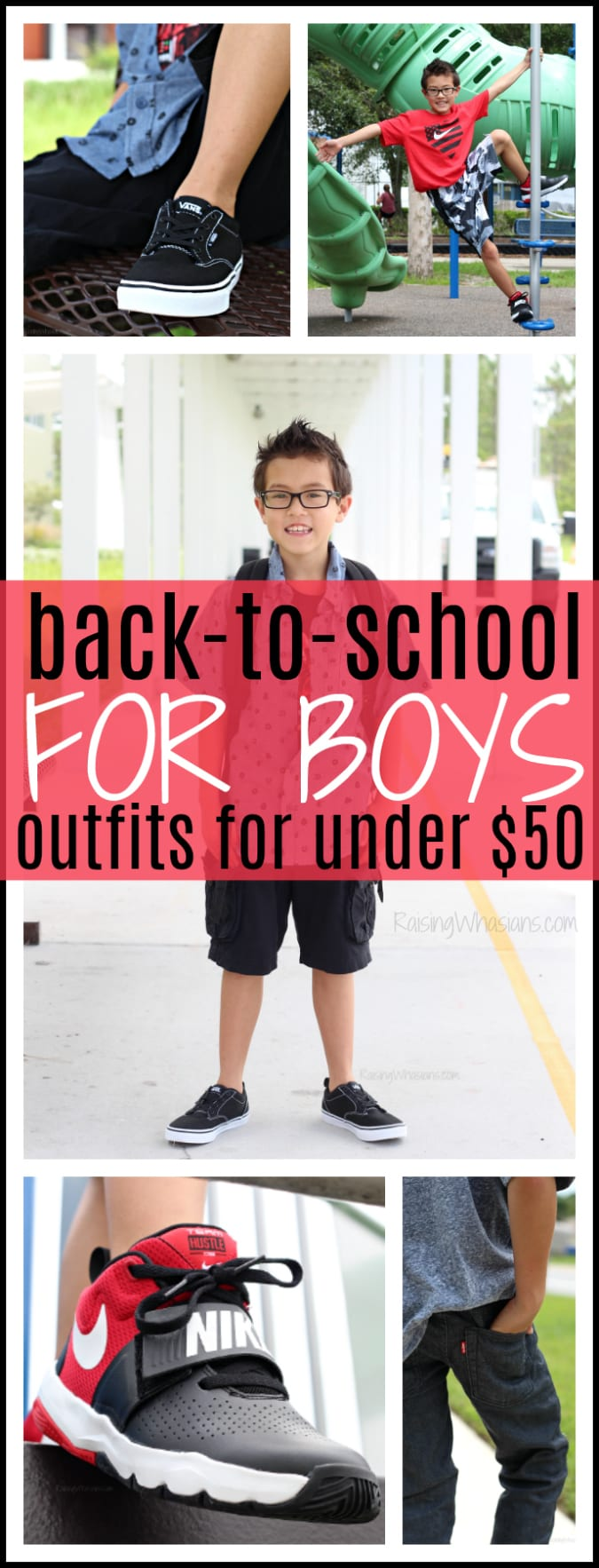 68005fdce92a 3 Boys Back to School Outfits for Under  50 + Kohl s Coupon ...