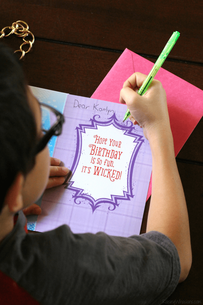 Descendants birthday card ideas