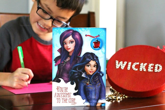 Descendants hallmark card