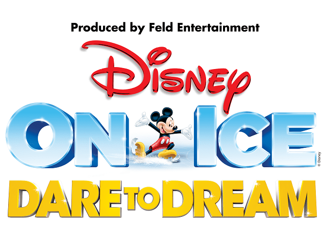 Disney on ice dare to dream logo