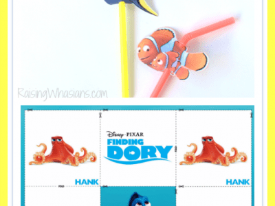 effc4cb3fbc FREE Finding Dory Straw Topper Printable + Kids Activities  FindingDoryEvent
