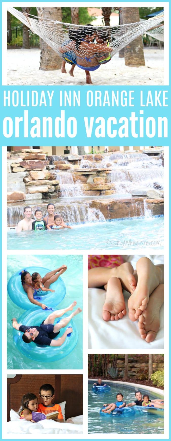 Orlando vacation holiday inn orange lake