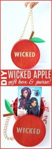 Wicked apple gift box diy pinterest