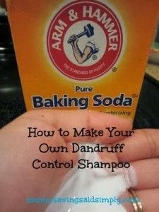 How to dandruff shampoo