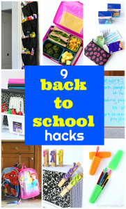 Back to school hacks for busy parents
