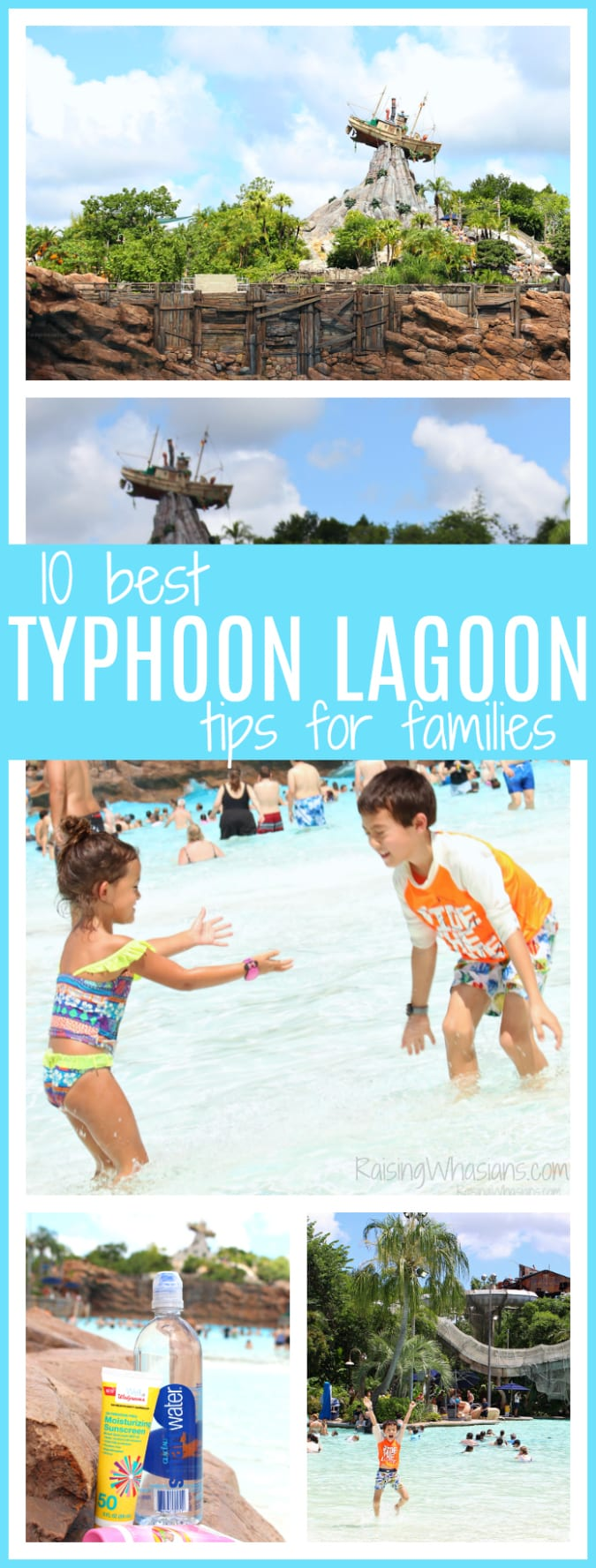 Best typhoon lagoon tips for families