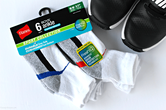 Boys socks odor protection
