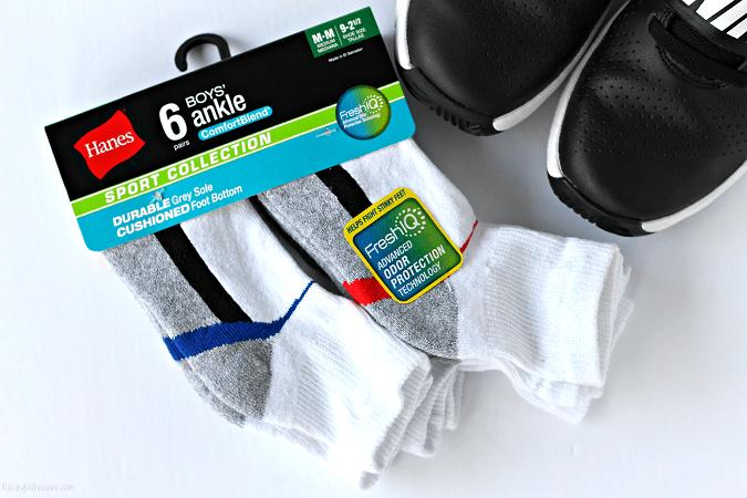 Boys socks odor protection