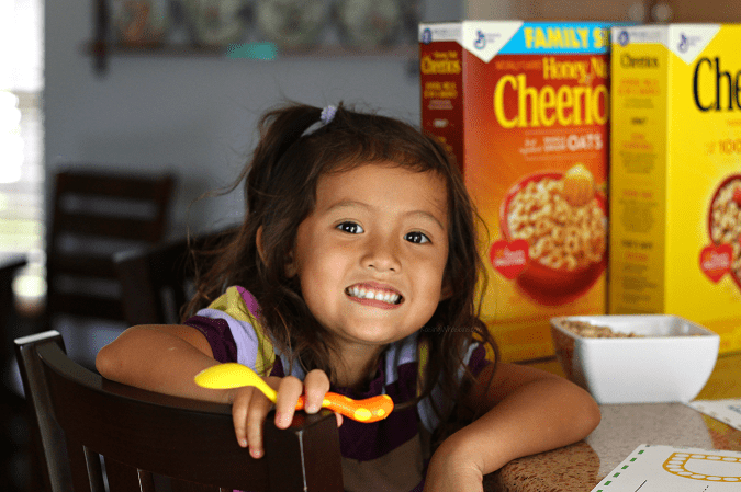Cheerios free preschool activities