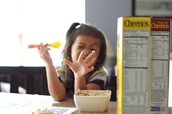 Cheerios preschool activities