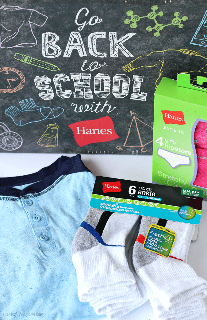 Hanes back to school essentials