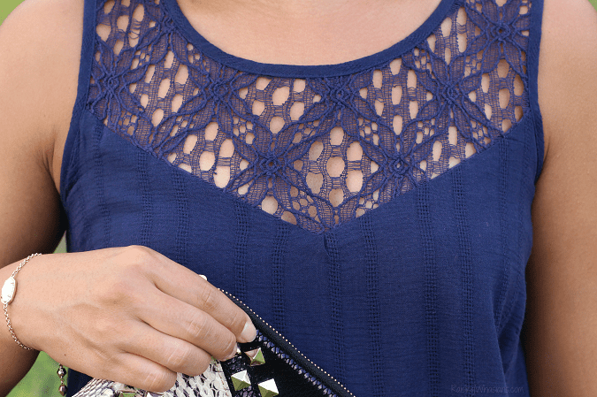 Lace eyelet trend