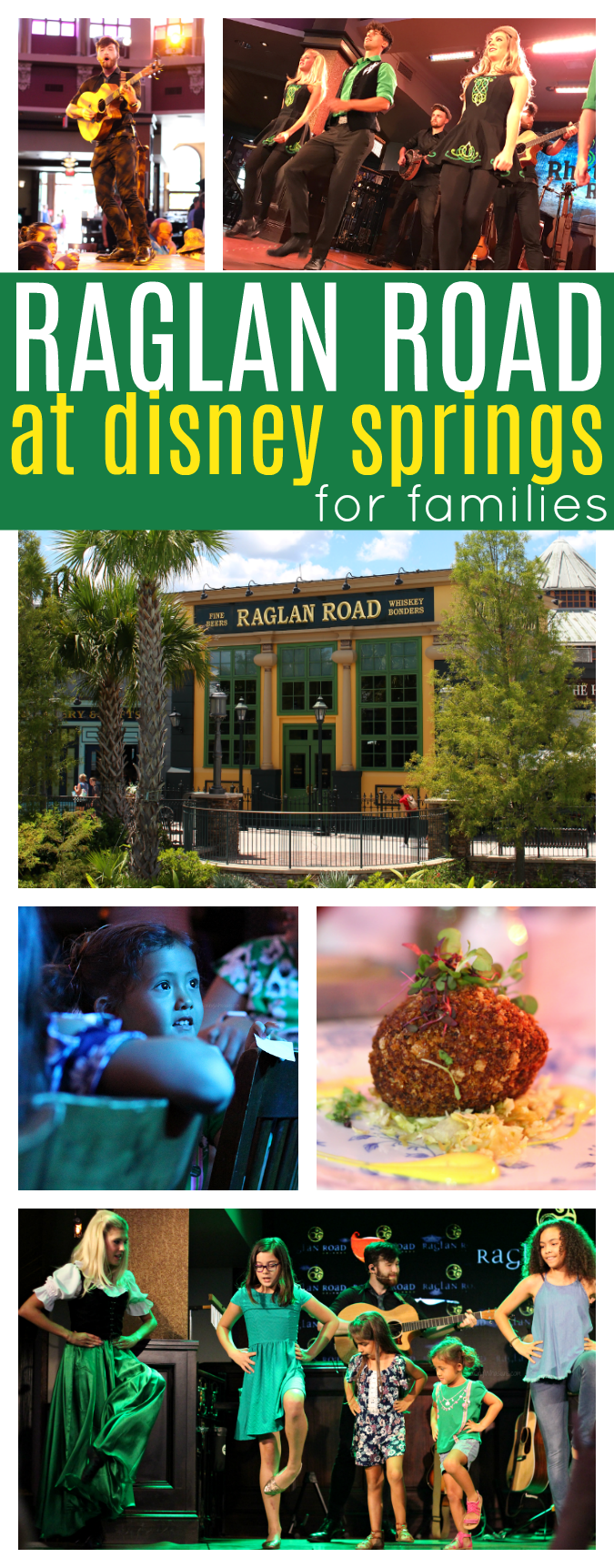 Raglan road at Disney springs for families