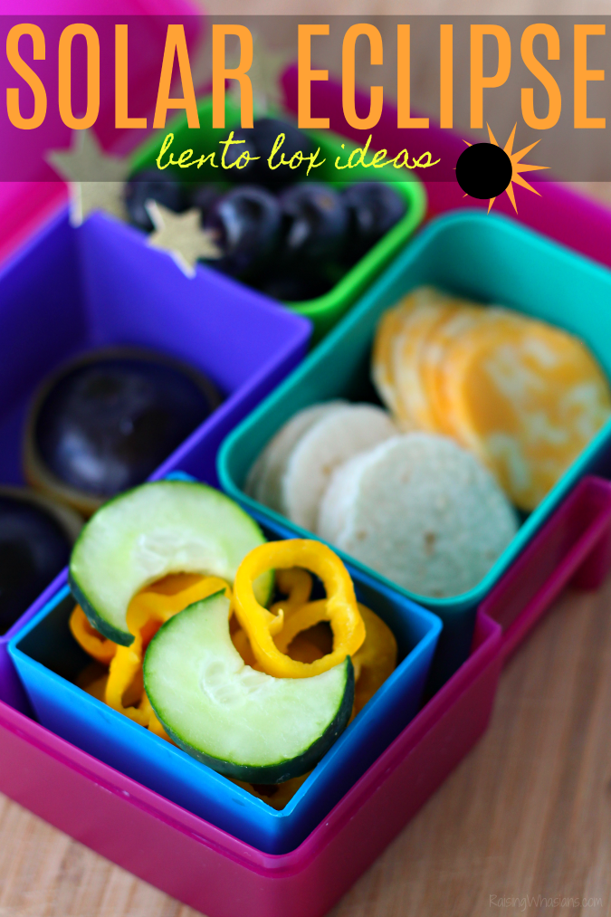 Solar eclipse bento box ideas