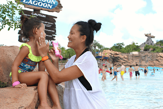 Sunscreen tips typhoon lagoon