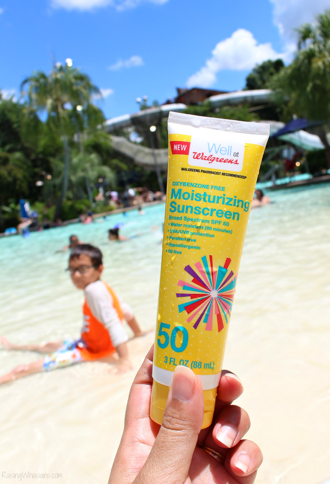 Well at Walgreens sunscreen review