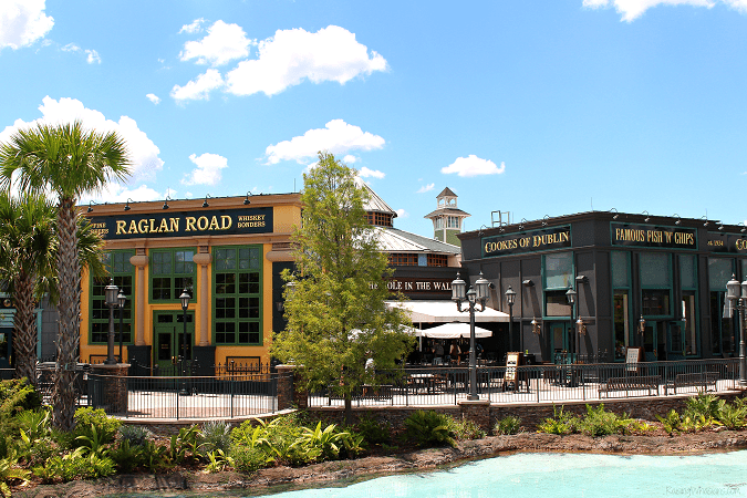 Why families love raglan road at disney springs