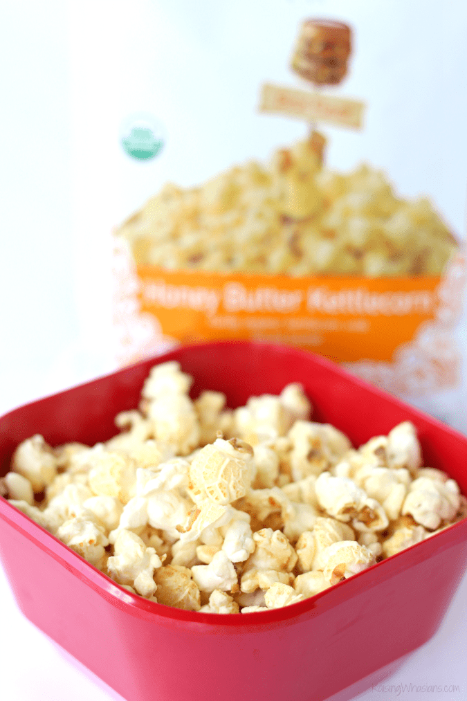 GH cretors organic honey butter kettlecorn