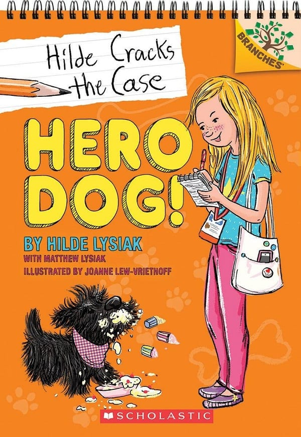 HIlde cracks the case hero dog review