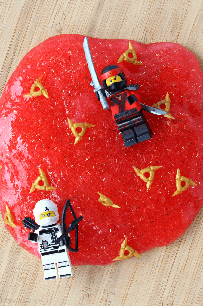 How to make LEGO NINJAGO slime